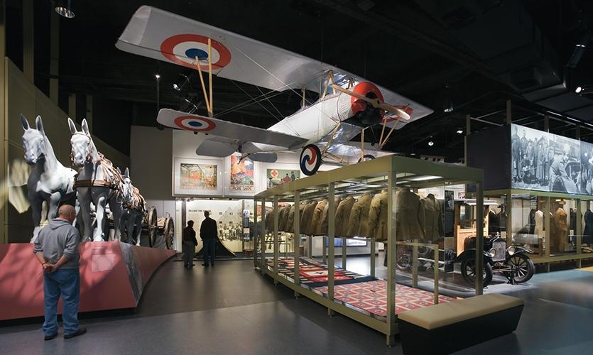 Visitor, National World War I Museum, Liberty Memorial Association, Ralph Appelbaum Associates