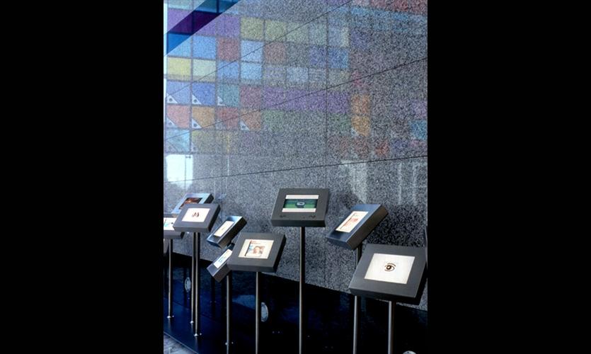 Light Boxes, Adobe Headquarters, Adobe Systems, Mauk Design