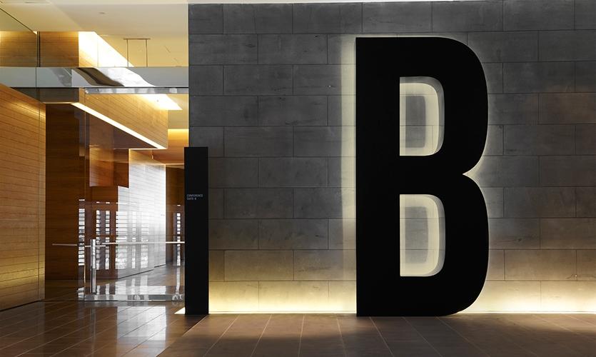 Illuminated Letter, ANZ Centre, ANZ, Fabio Ongarato Design, HASSELL, Lend Lease Design