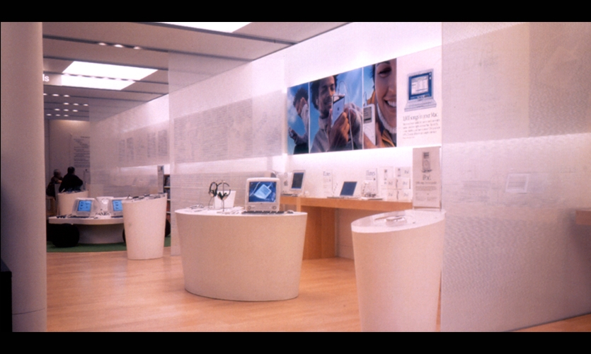 Product Displays, Apple Retail Store, Apple Computer