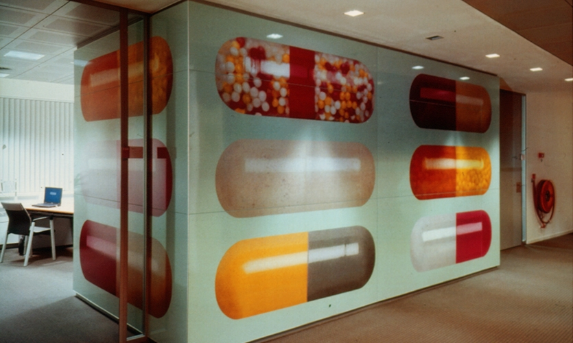 Pill Graphics, ArboNed Office Interiors, Bureau Mijksenaar