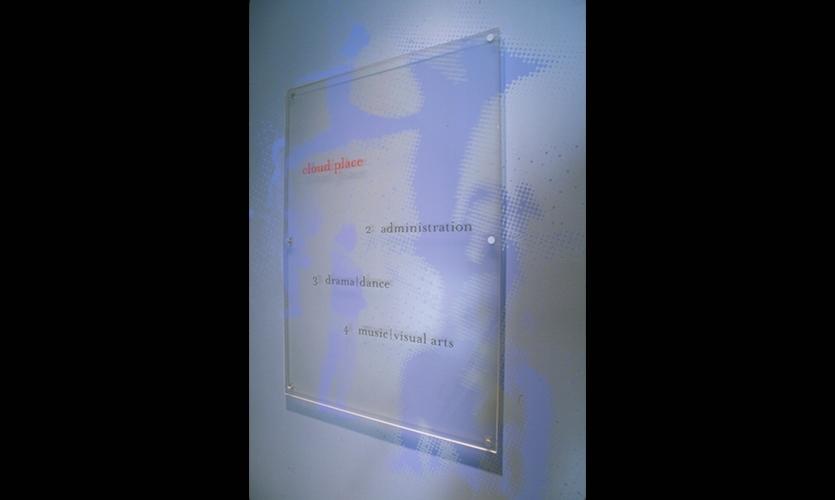Cloud Place, The Cloud Foundation Sign System, plus design