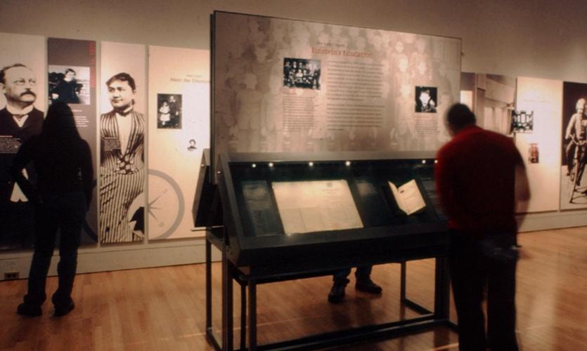 Einstein's Education Display, Einstein, American Museum of Natural History