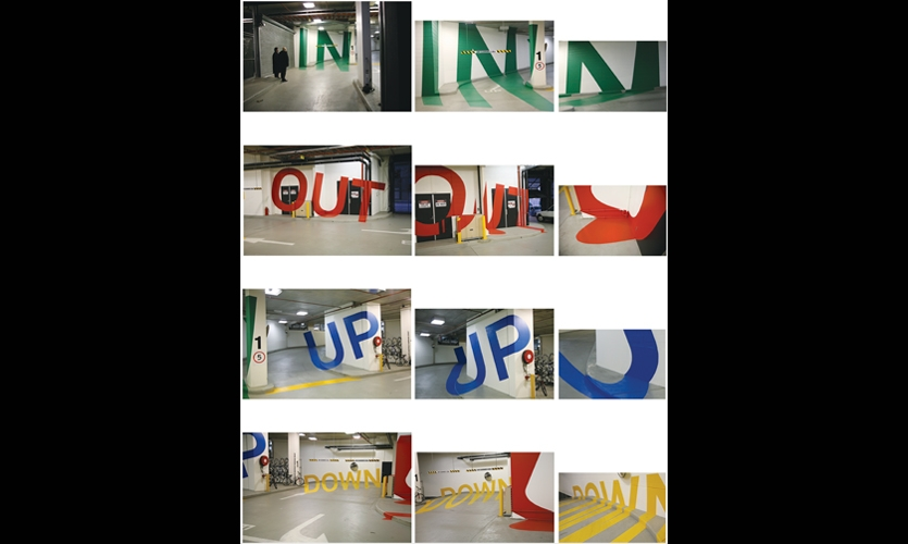 Collage, Eureka Carpark, emerystudio