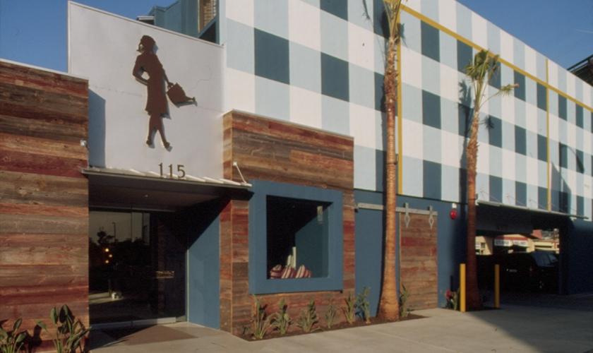 Exterior, Farmer's Daughter Hotel, Romero Thorsen Design