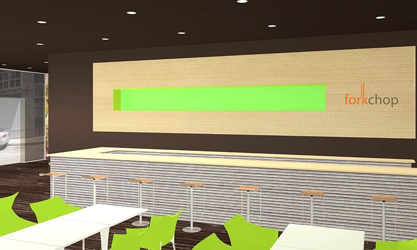 Bar, Forkchop Restaurant, James Tsai, Academy of Art University