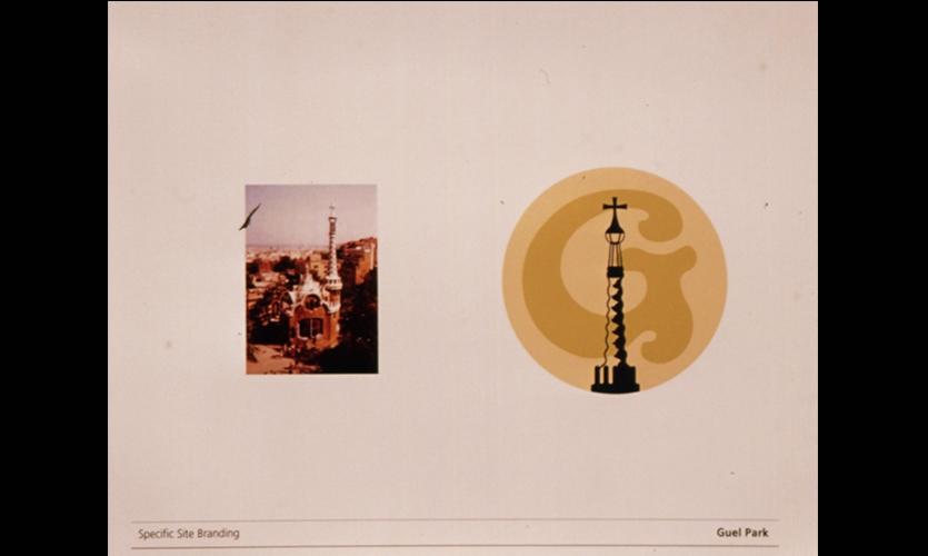Specific Site Branding, Gaudi in Barcelona, Parson School of Design, Jihea Kim