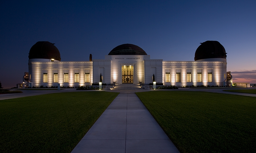 Exterior, Griffith Observatory Exhibits, City of Los Angeles, C&G Partners