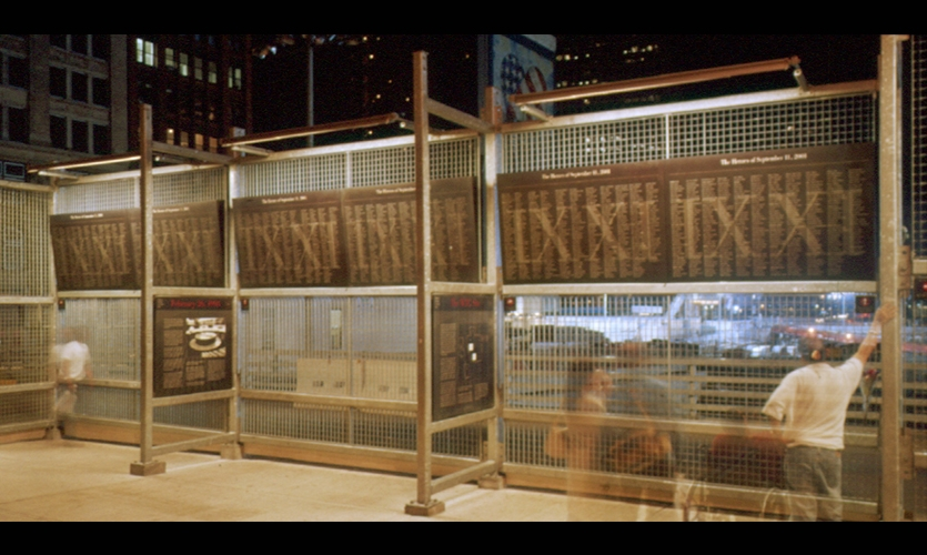 Fiberglas Panels, Ground Zero Viewing Wall, Port Authority of New York & New Jersey, Pentagram