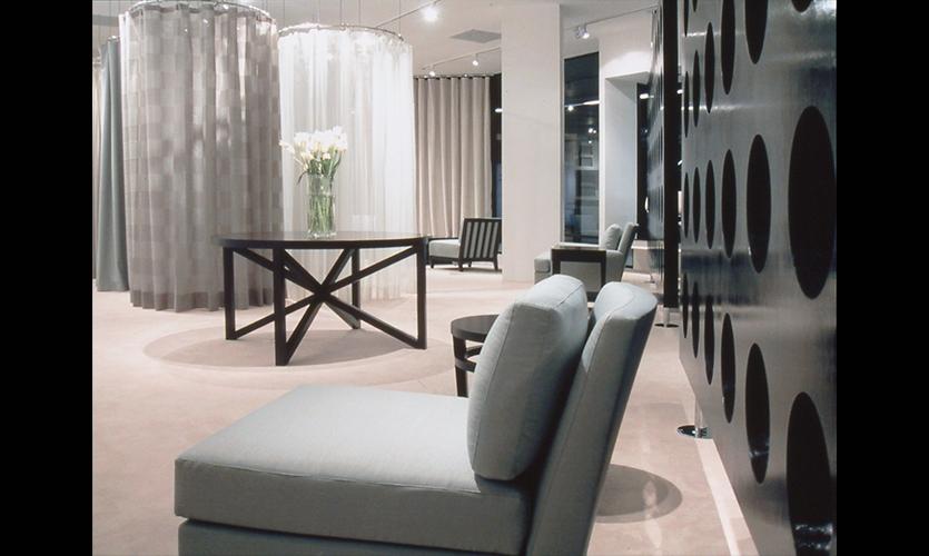 Showroom Floor, HBF LA Showroom, Vanderbyl Design