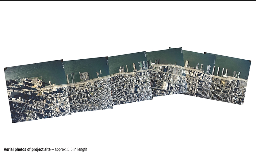 Aerial Photos, Hudson River Park, Hudson River Park Trust, Emphas!s Design