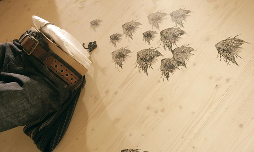 Floor Graphics, Hugo Boss Orange Concept Store, Hugo Boss AG, Projekttriangle Design Studio