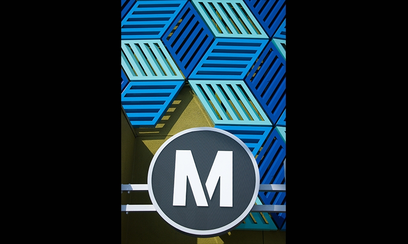 Logo, Los Angeles Metro, Metro Design Studio