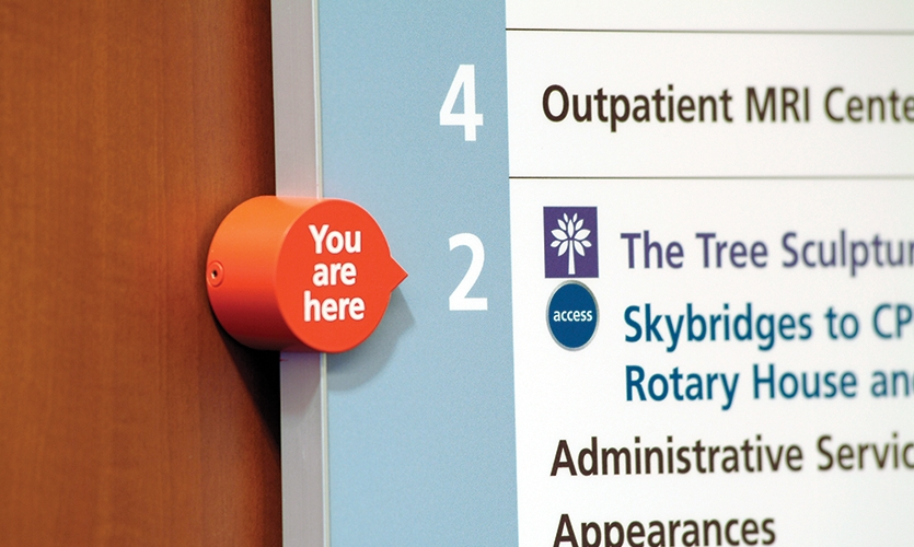 You Are Here, M.D. Anderson Access System, The University of Texas M. D. Anderson Cancer Center, fd2s