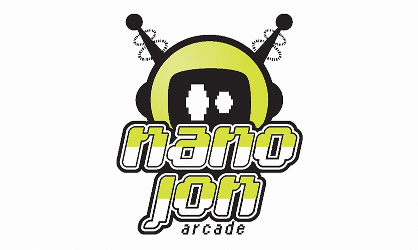 Logo, Nano Jon Arcade, Jonathan Deepe, Rocky Mountain College of Art & Design