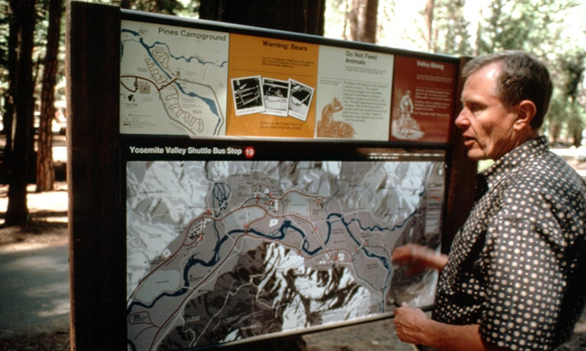 Map, The NPS UniGuide Program, National Park Service, Meeker & Associates