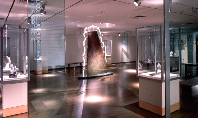 Displays, New Corning Museum of Glass, Ralph Appelbaum Associates