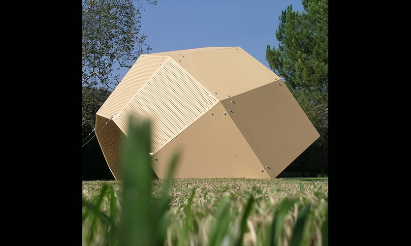 One Geodesic Dome, Day Poem Pavilion, Art Center College of Design, Jiyeon Song