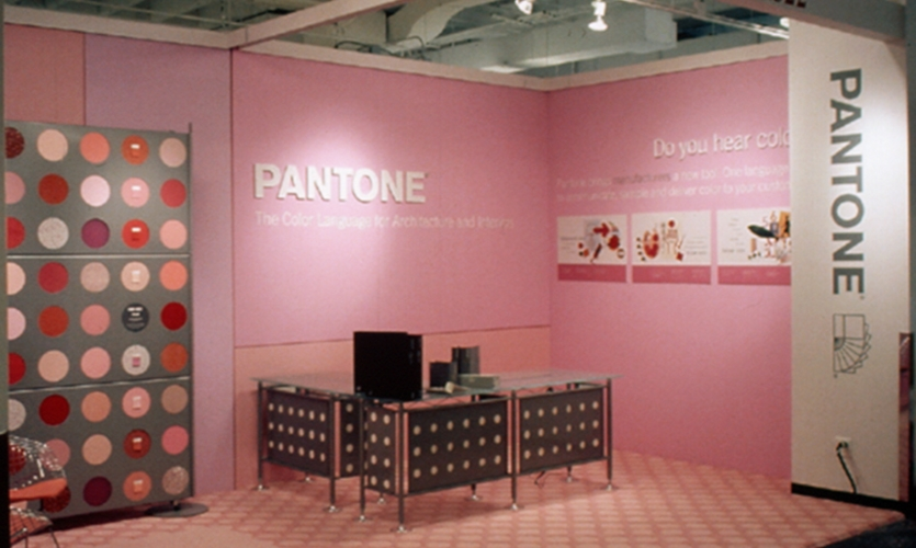 Booth Graphics, Pantone NeoCon, Gensler