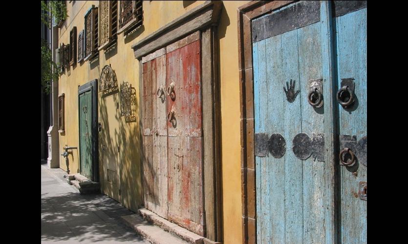 Doors, Santana Row, San Jose, California, Maestri
