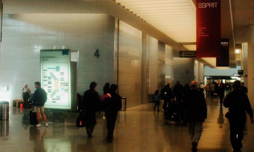 Main Hall, San Francisco International Terminal, San Francisco International Airport, Mayer/Reed