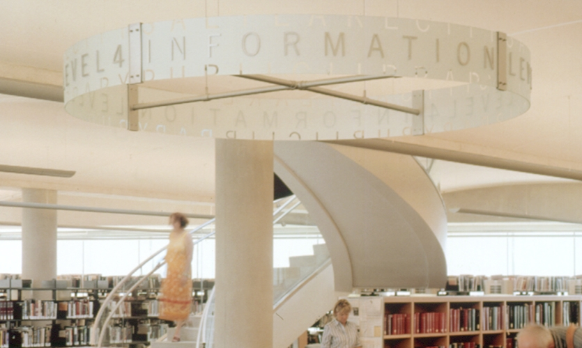 Information, Salt Lake City Public Library, Pentagram