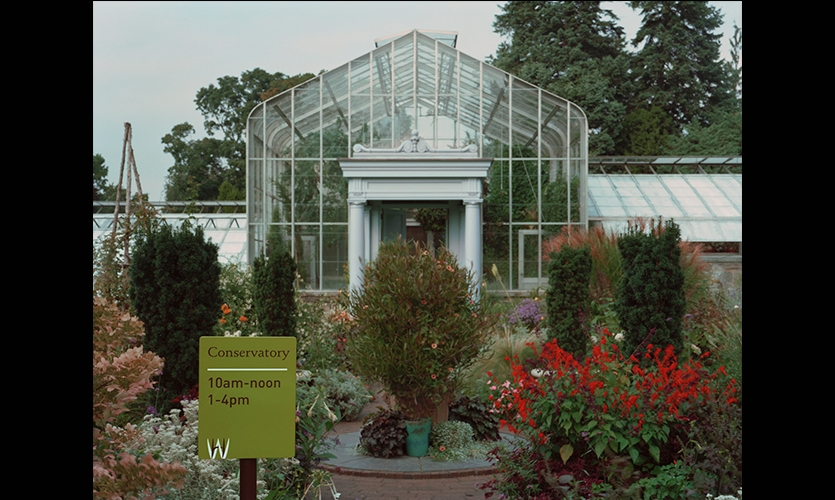 Conservatory, Wave Hill, Pentagram