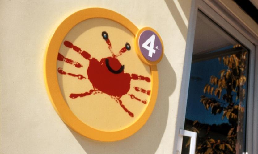 Wall Graphic, Westside Children's Center, Lane + Lane Inc. Design Office