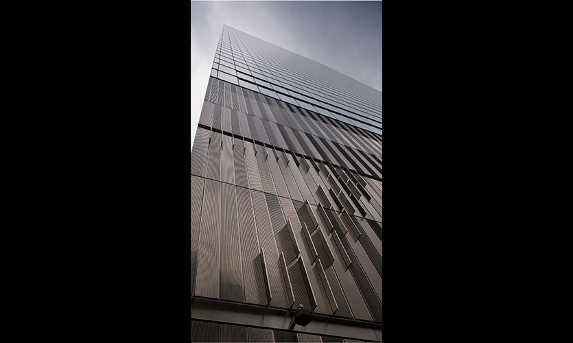 Exterior, 7 World Trade Center, Silverstein Properties, Pentagram