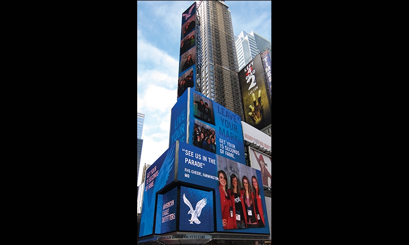 Exterior, 15 Seconds of Fame, American Eagle Outfitters, R/GA