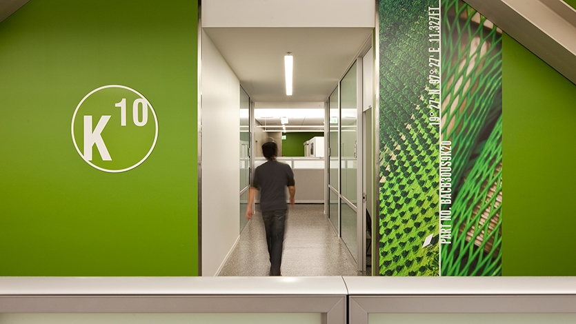 Wall Graphics, Boeing Future Factory, The Boeing Company, NBBJ