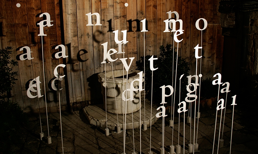 Letters, Aleph, IUAV University of Venice, Sara Poli, Silvia Cervellin, Matteo Ferraro, Margherita Rubini