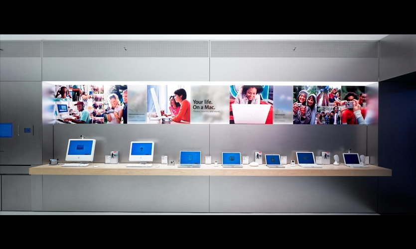Display, Mini Store, Apple Computer