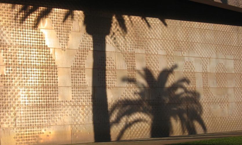 Wall Texture Detail, de Young Museum, Fine Arts Museum of San Francisco, Debra Nichols Design