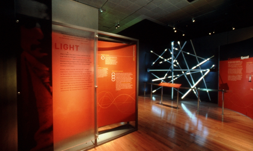 Light Display, Einstein, American Museum of Natural History