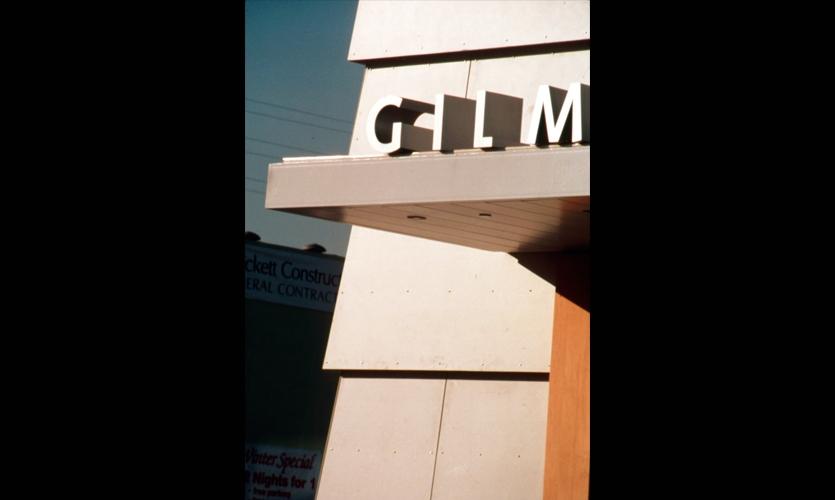 Lettering, Gilmore Bank, Newsom Design