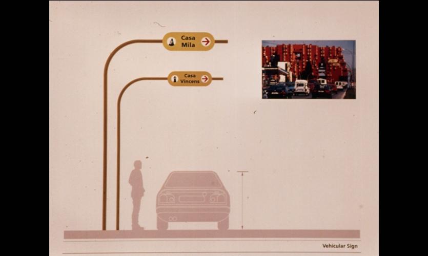 Vehicular Signs, Gaudi in Barcelona, Parson School of Design, Jihea Kim