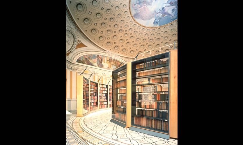Bookshelves, Jefferson Library, Library of Congress, Chermayeff & Geismar