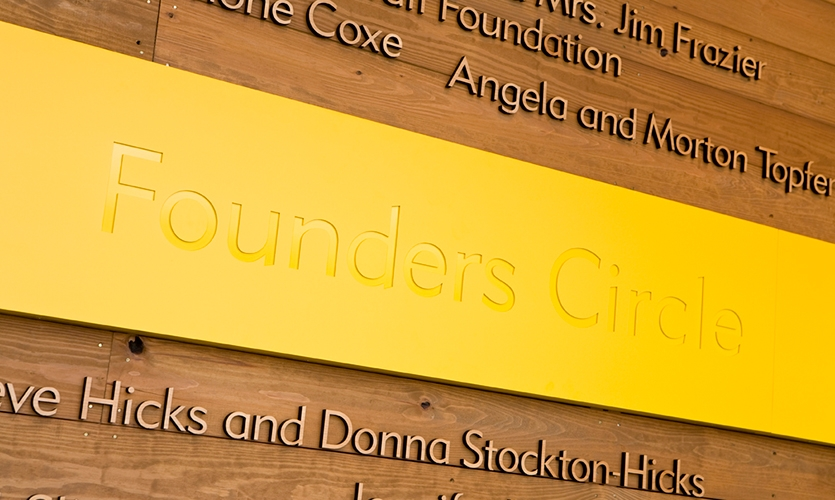 Founders Circles, Lance Armstrong Foundation Headquarters, fd2s inc.