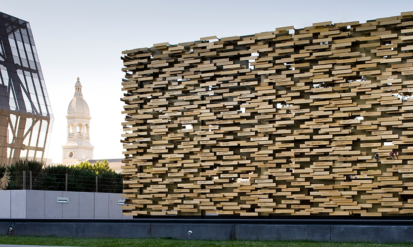 Daylight, LAPD Memorial, Los Angeles Police Foundation, Gensler