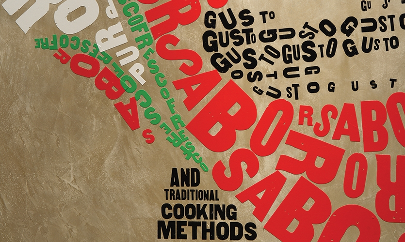 Typography, Mad Mex Fresh Mexican Grill, Holy Cow! Design & Advertising