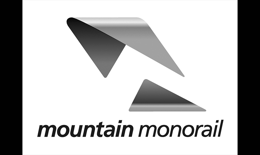 Logo, Mountain Monorail, Rocky Mountain College of Art & Design, Zach Lee