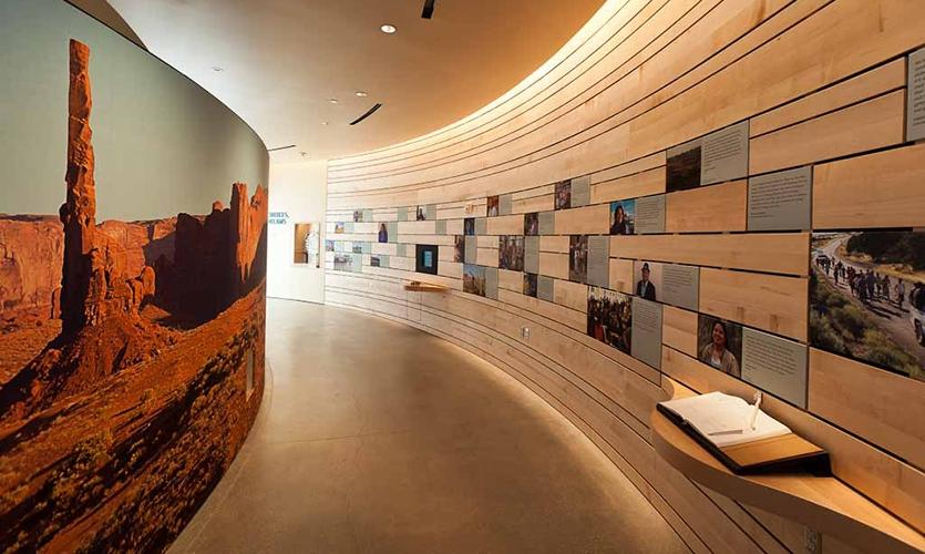 Foyer Museum Utah : Natural history museum of utah segd