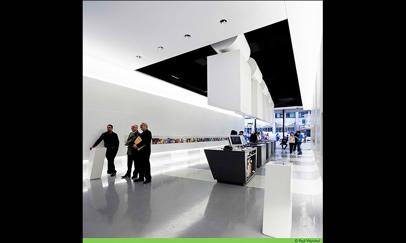 Visitors, The Official NYC Information Center, NYC & Company, Local Projects, WXY Architecture