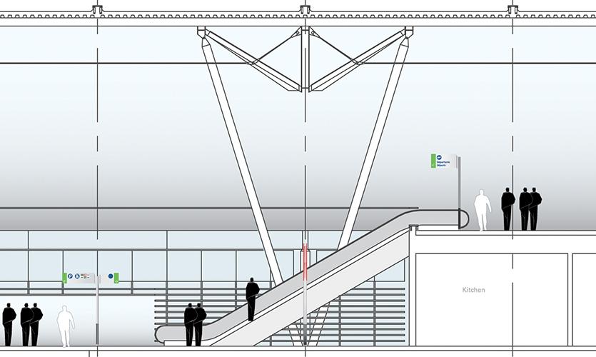Airport Levels, Ottawa MacDonald - Master Plan, Cartier International Airport Authority, Gottschalk + Ash International