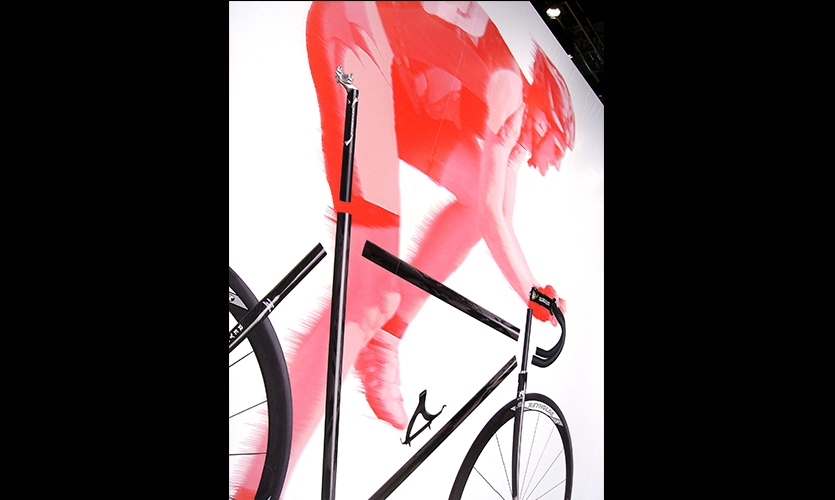 Graphic, Reynolds Interbike Exhibit, Reynolds Composites, Mauk Design
