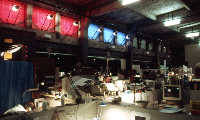 Interior, R-G-B, Southern California Institute of Architecture, Electroland