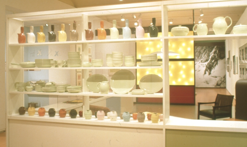 Exhibit Displays, Russel Wright: Creating American Lifestyle, Cooper Hewitt National Design Museum, Smithsonian Institution, Matter Practice