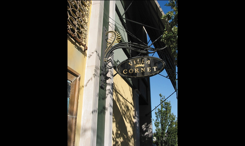 Villa Cornet, Santana Row, San Jose, California, Maestri