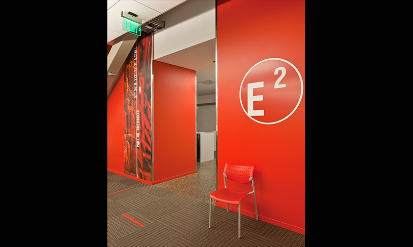 Entryway, Boeing Future Factory, The Boeing Company, NBBJ
